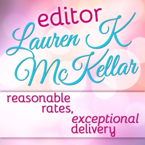 Button ad for Lauren K McKellar